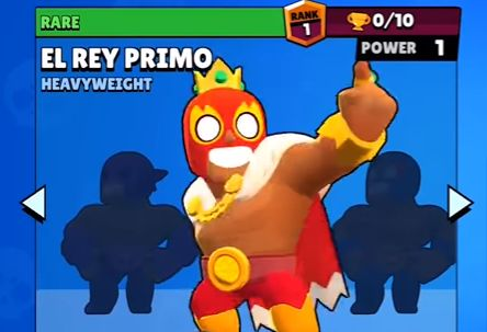 el rey primo brawl stars
