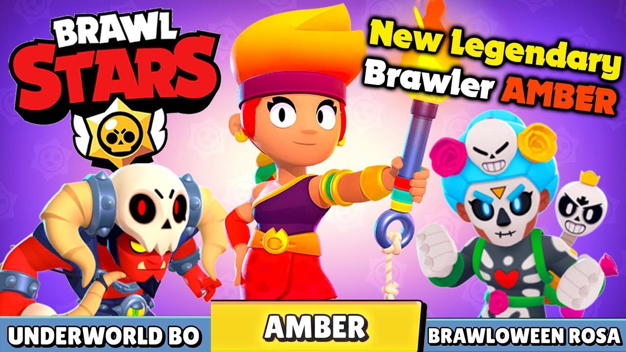 amber y novedades brawl stars